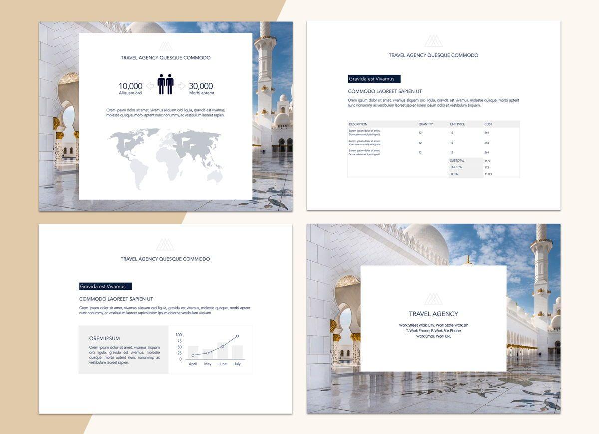Voyage Powerpoint Presentation Template, Slide 2, 04827, Business Models — PoweredTemplate.com