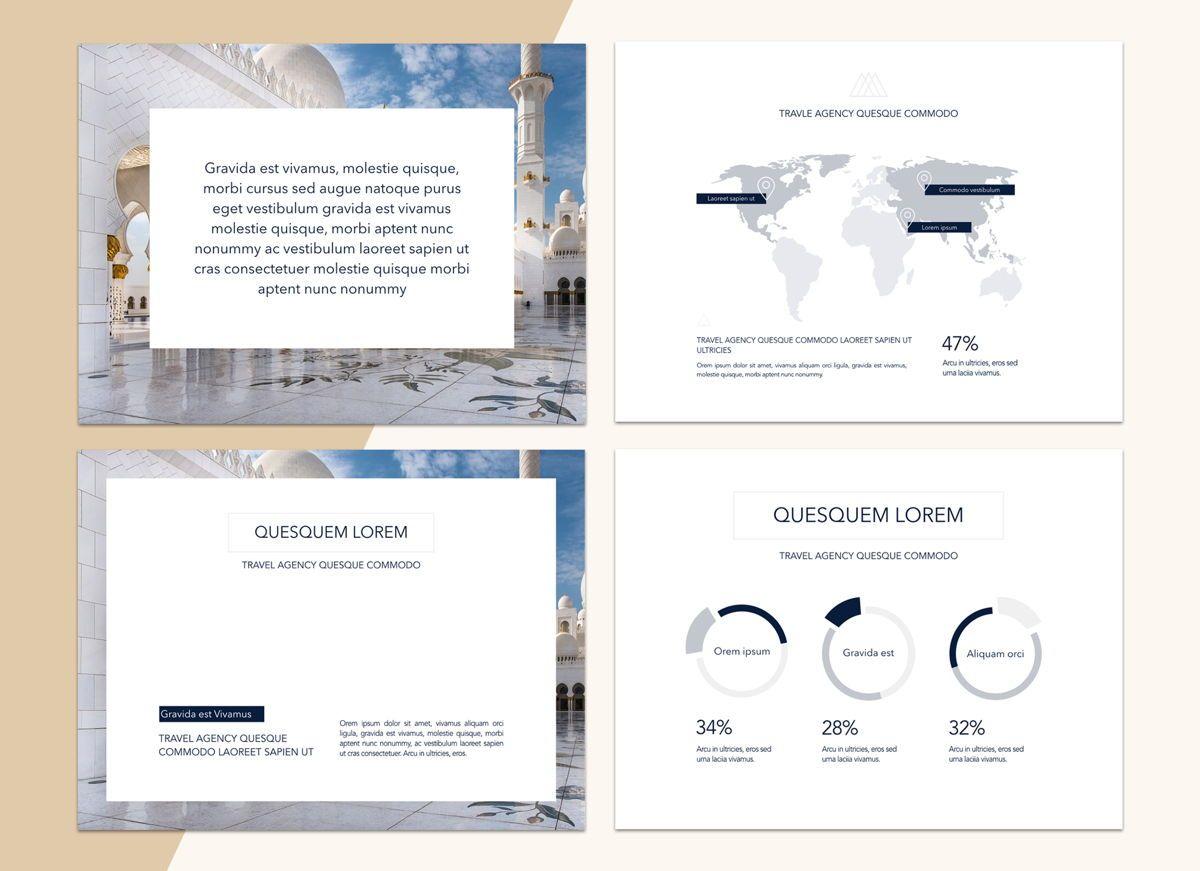 Voyage Powerpoint Presentation Template, Slide 4, 04827, Business Models — PoweredTemplate.com