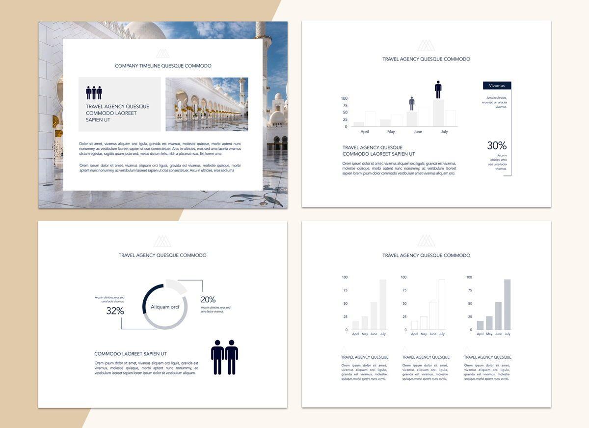 Voyage Powerpoint Presentation Template, Slide 6, 04827, Business Models — PoweredTemplate.com