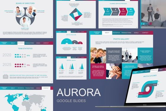 Infographics: Aurora Google Slides Theme #04841