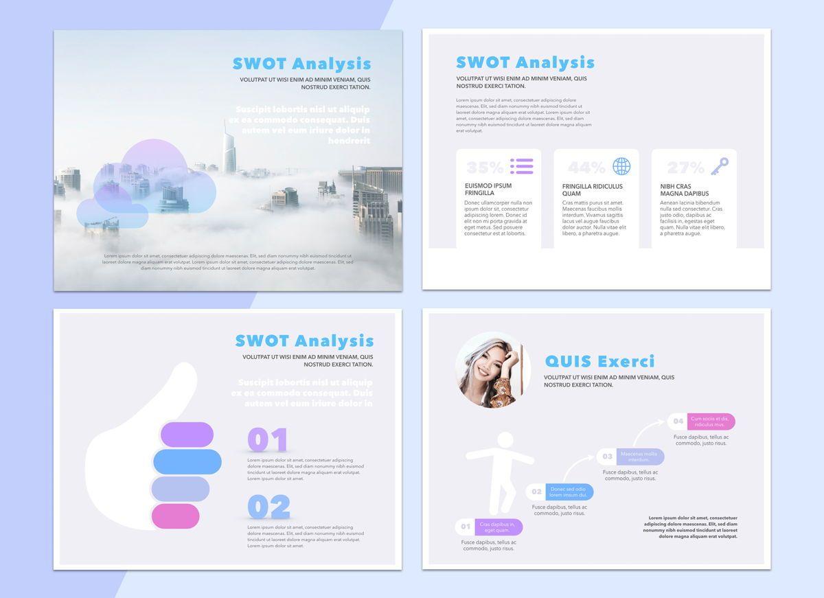 Technology Cloud Powerpoint Presentation Template, Slide 6, 04842, Business Models — PoweredTemplate.com