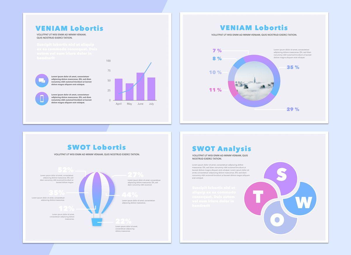 Technology Cloud Powerpoint Presentation Template, Slide 7, 04842, Business Models — PoweredTemplate.com