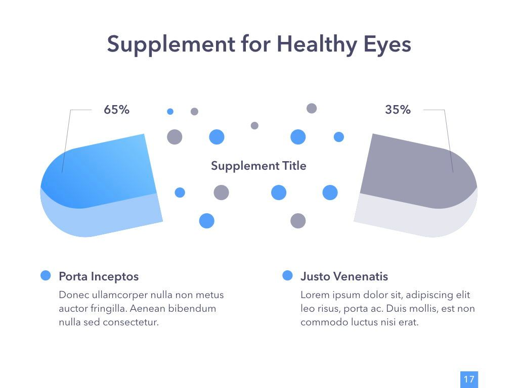 Eye Health Google Slides Template, Slide 18, 04845, Medical Diagrams and Charts — PoweredTemplate.com