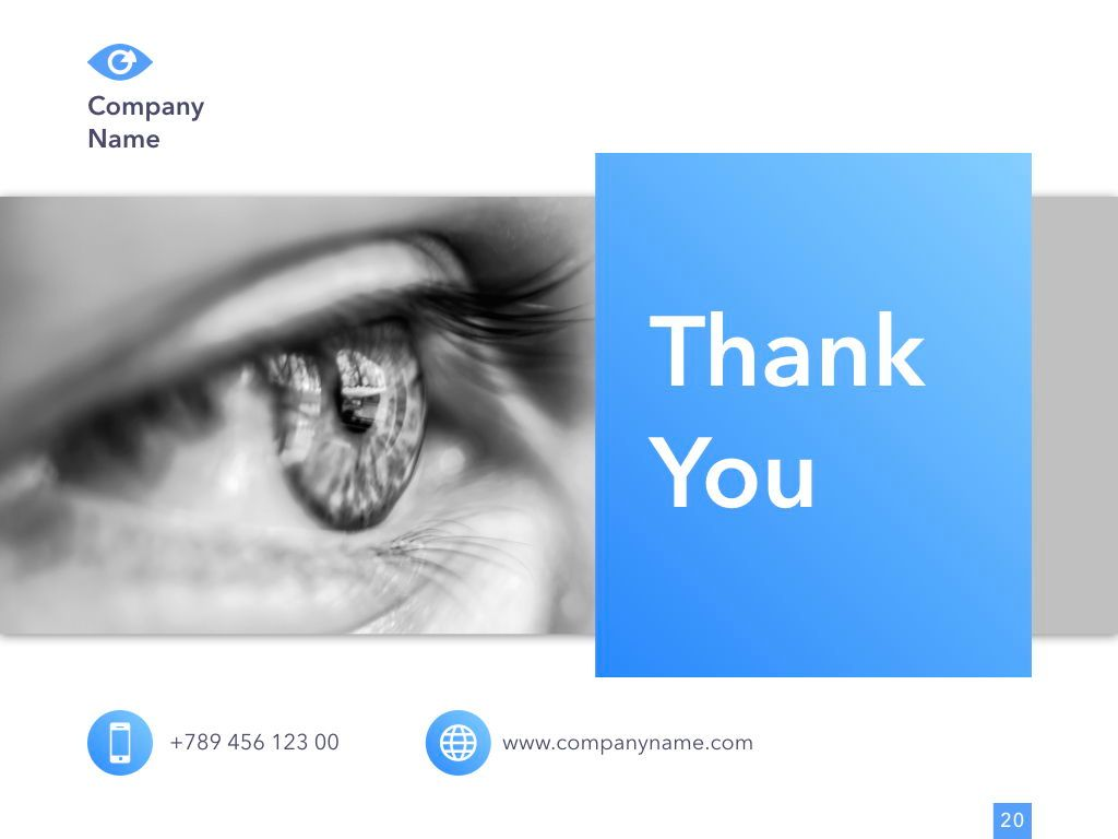 Eye Health Google Slides Template, Slide 21, 04845, Medical Diagrams and Charts — PoweredTemplate.com