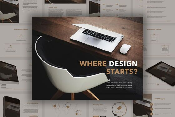 Presentation Templates: Inception Keynote Template #04847
