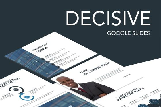 Presentation Templates: Decisive Google Slides Template #04857