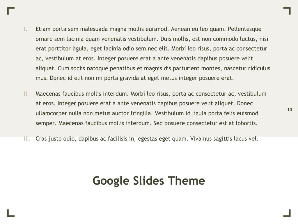 Exhibit Google Slides Template, Slide 11, 04866, Presentation Templates — PoweredTemplate.com