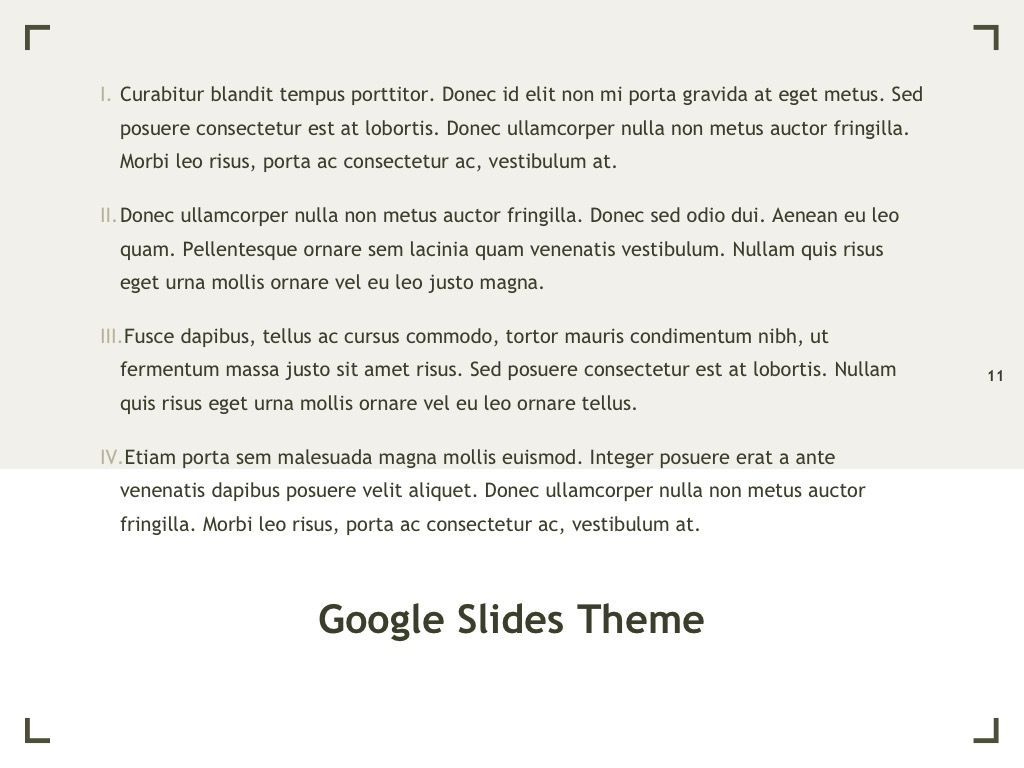 Exhibit Google Slides Template, Slide 12, 04866, Presentation Templates — PoweredTemplate.com