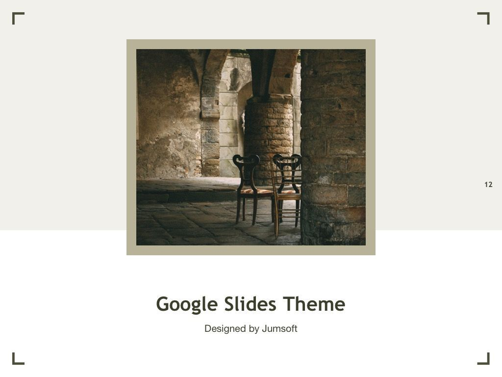 Exhibit Google Slides Template, Slide 13, 04866, Presentation Templates — PoweredTemplate.com