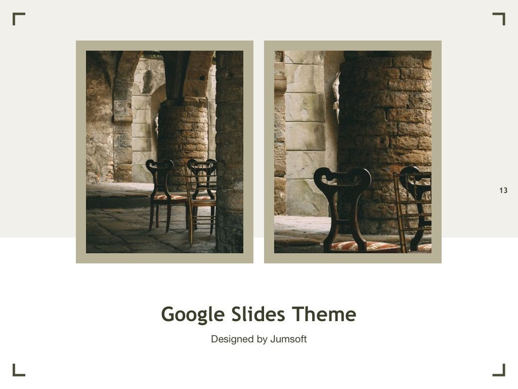 Exhibit Google Slides Template, Slide 14, 04866, Presentation Templates — PoweredTemplate.com