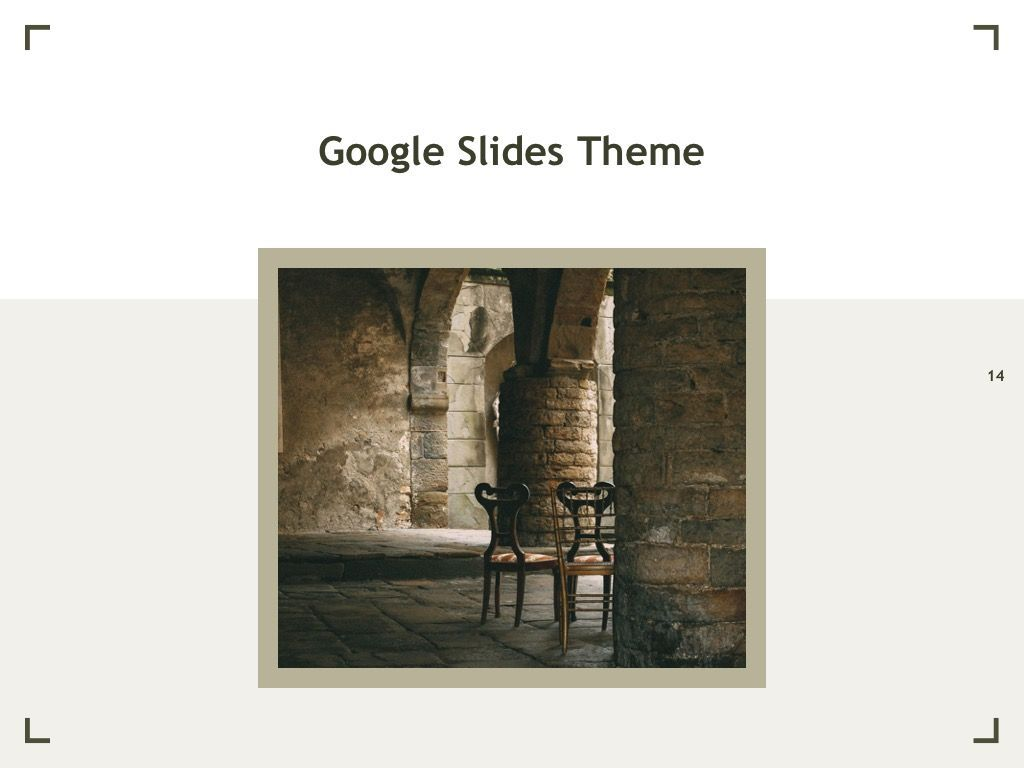 Exhibit Google Slides Template, Slide 15, 04866, Presentation Templates — PoweredTemplate.com