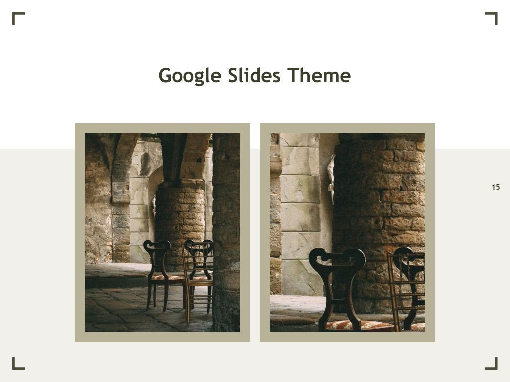 Exhibit Google Slides Template, Slide 16, 04866, Presentation Templates — PoweredTemplate.com