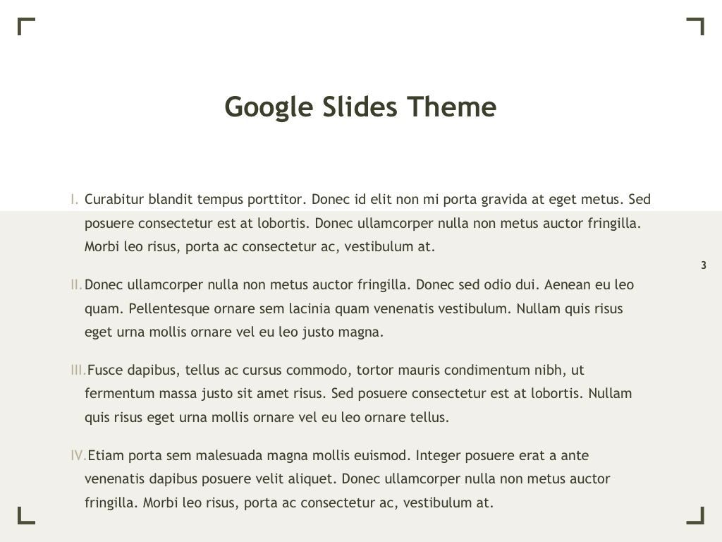 Exhibit Google Slides Template, Slide 4, 04866, Presentation Templates — PoweredTemplate.com