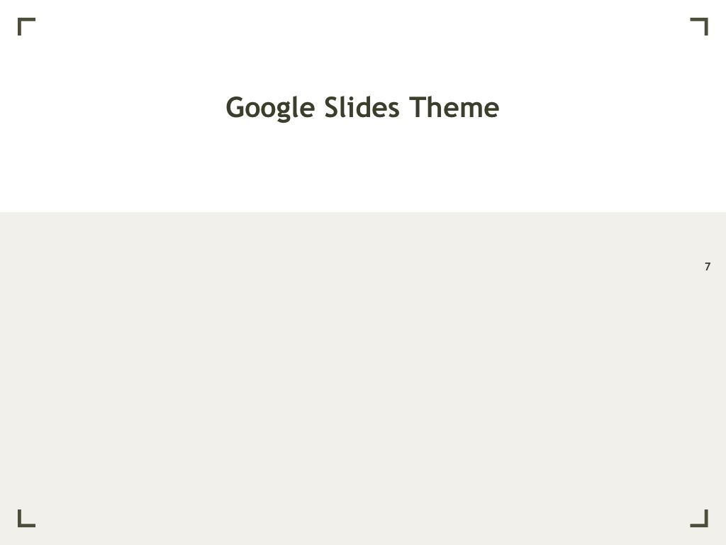 Exhibit Google Slides Template, Slide 8, 04866, Presentation Templates — PoweredTemplate.com