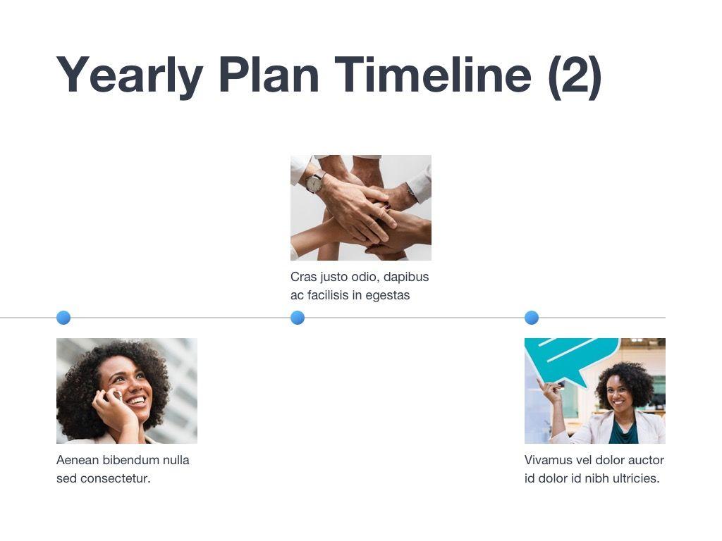 Marketing Blues Google Slides Theme, Slide 13, 04869, Presentation Templates — PoweredTemplate.com