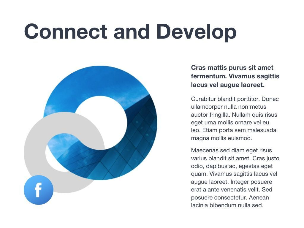Marketing Blues Google Slides Theme, Slide 14, 04869, Presentation Templates — PoweredTemplate.com