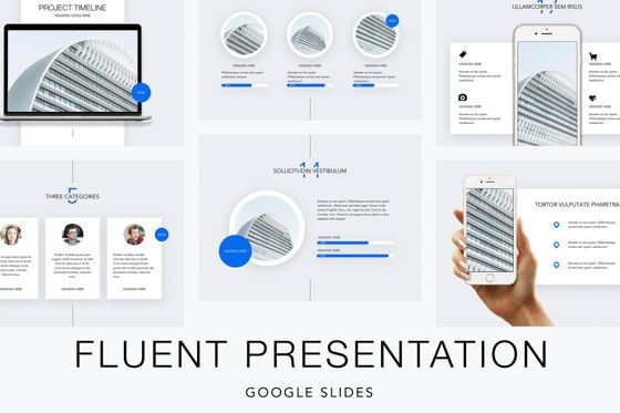 Presentation Templates: Fluent Google Slides Template #04880