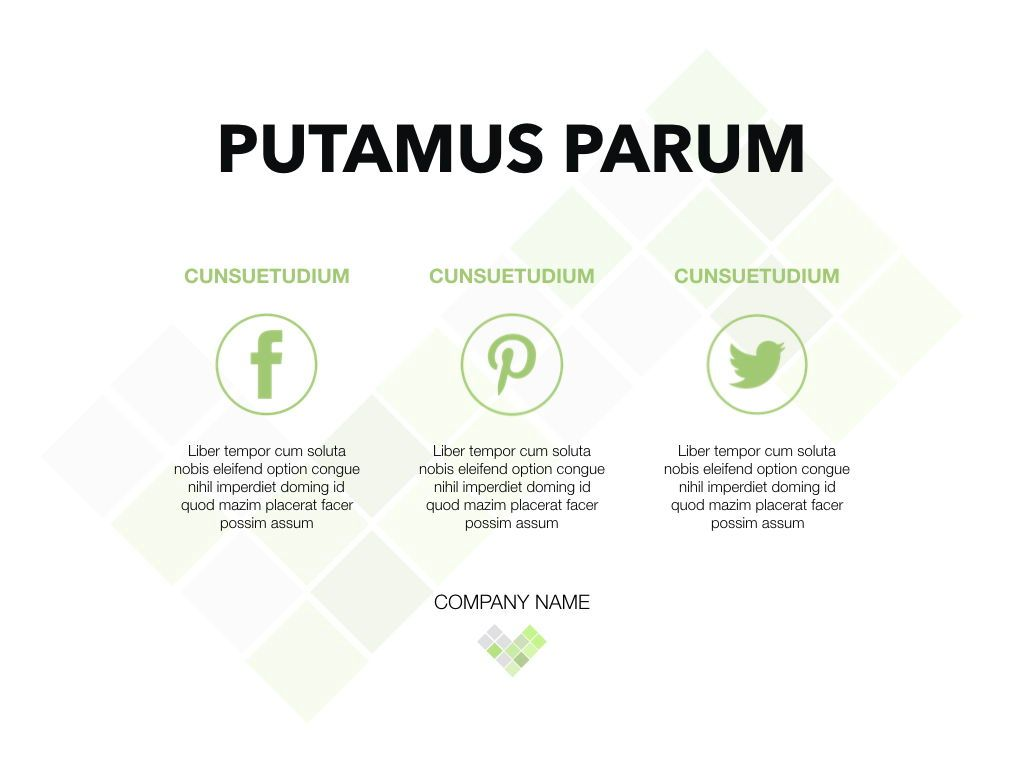 Bud Green Keynote Presentation Template, Slide 16, 04882, Business Models — PoweredTemplate.com