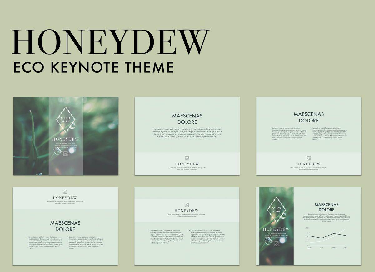 Honeydew Keynote Presentation Template, 04886, Business Models — PoweredTemplate.com
