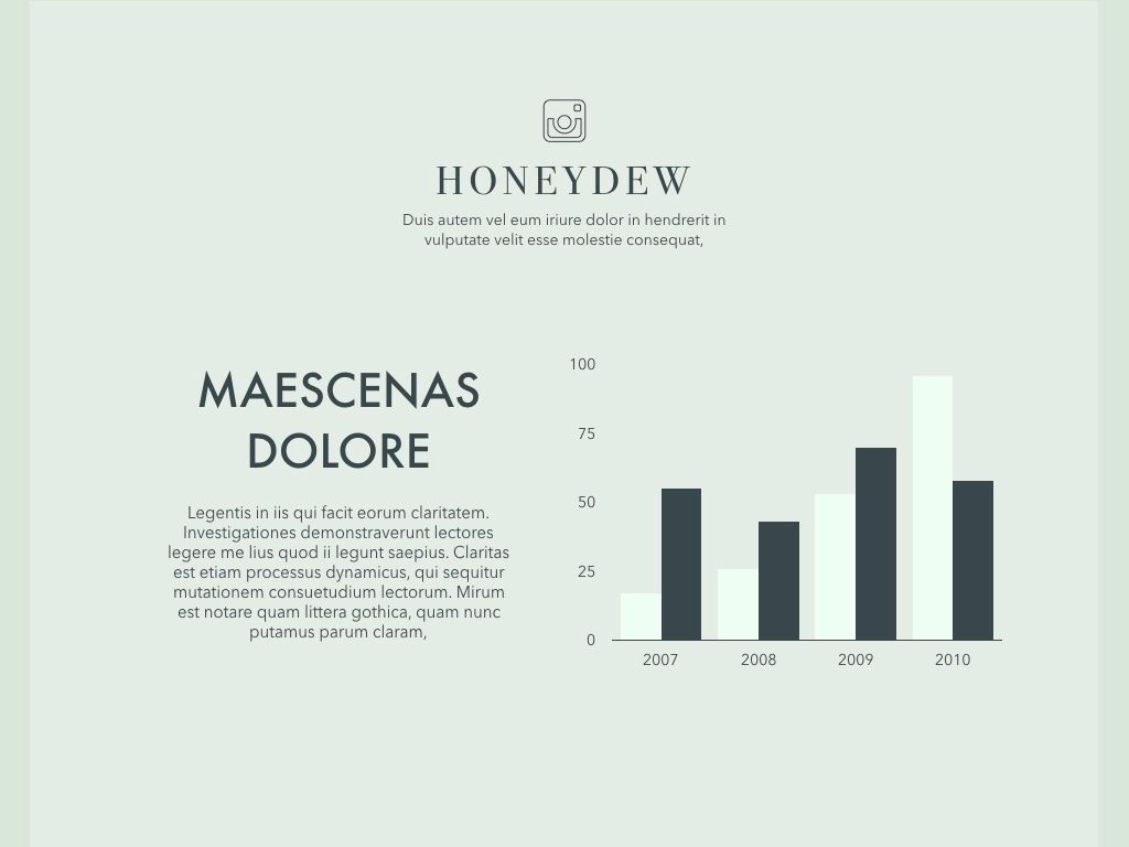 Honeydew Keynote Presentation Template, Slide 14, 04886, Business Models — PoweredTemplate.com