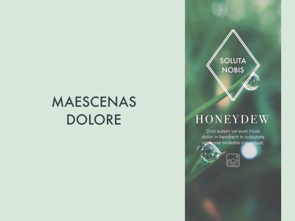 Honeydew Keynote Presentation Template, Slide 2, 04886, Business Models — PoweredTemplate.com
