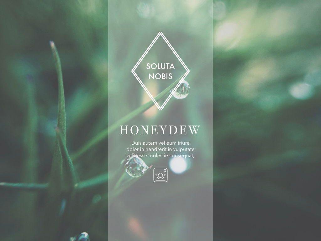Honeydew Keynote Presentation Template, Slide 3, 04886, Business Models — PoweredTemplate.com