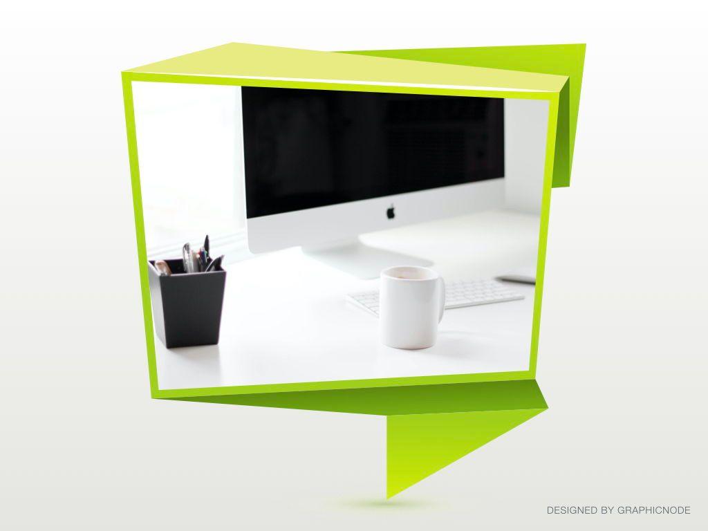 Origami Keynote Presentation Template, Slide 17, 04888, Business Models — PoweredTemplate.com