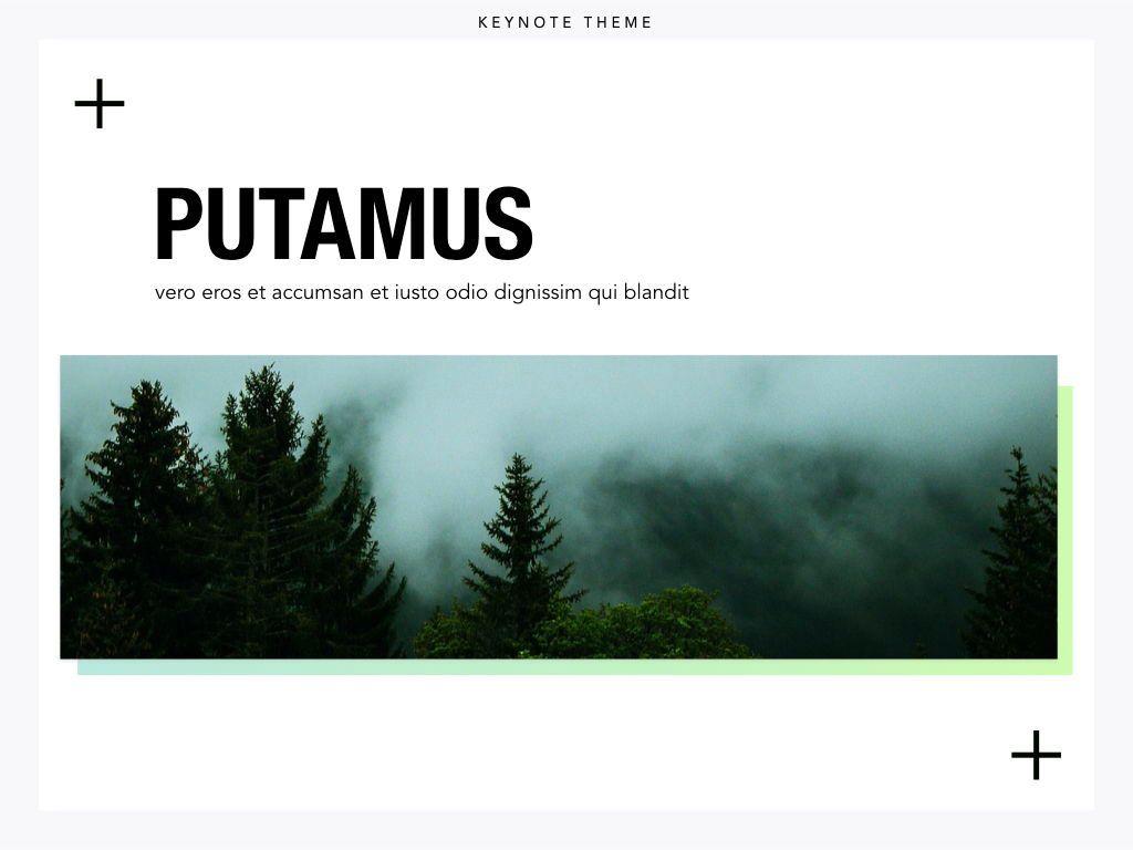 Plus One Keynote Presentation Template, Slide 12, 04889, Business Models — PoweredTemplate.com