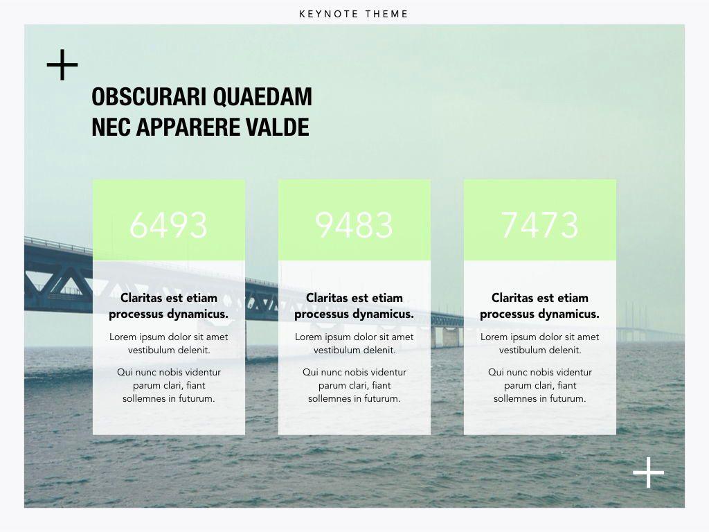 Plus One Keynote Presentation Template, Slide 15, 04889, Business Models — PoweredTemplate.com