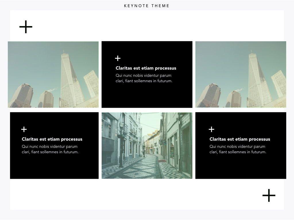 Plus One Keynote Presentation Template, Slide 24, 04889, Business Models — PoweredTemplate.com