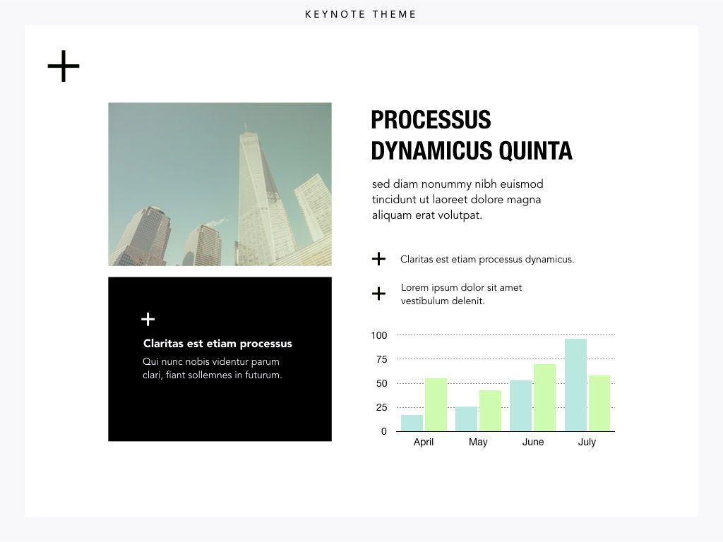 Plus One Keynote Presentation Template, Slide 5, 04889, Business Models — PoweredTemplate.com