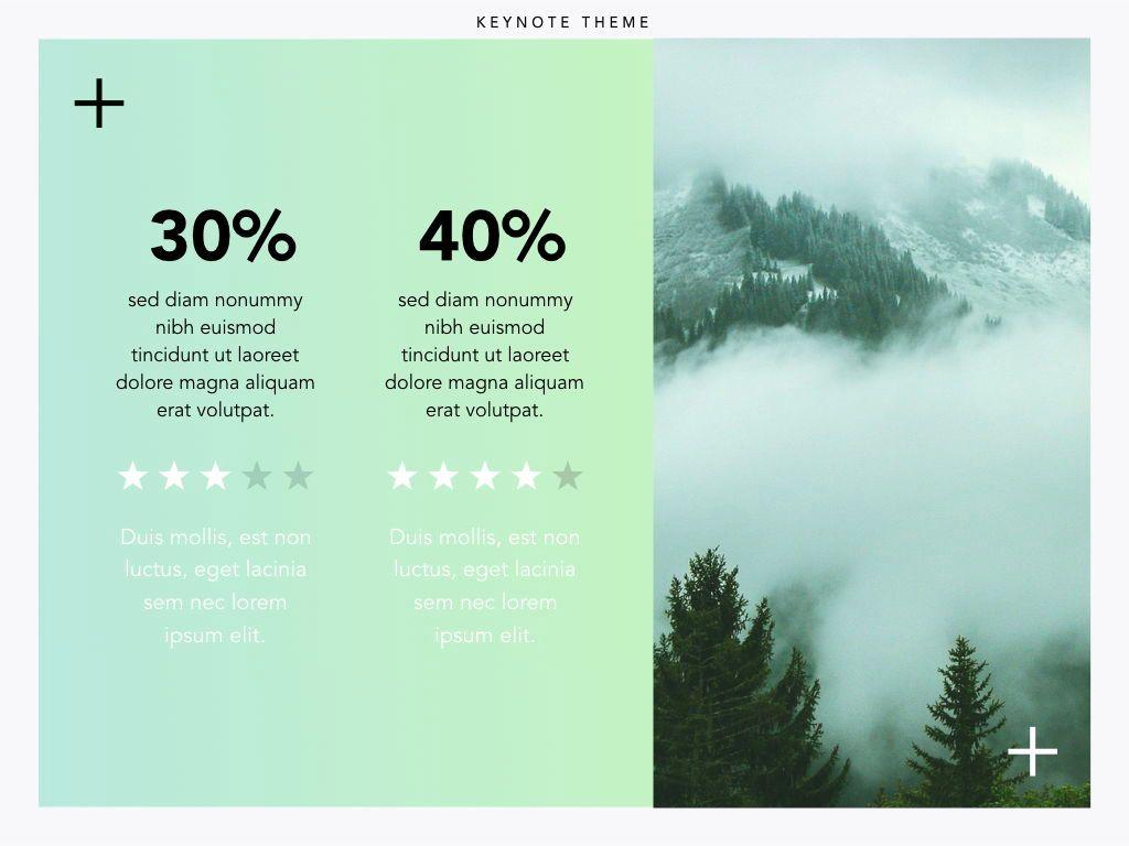 Plus One Keynote Presentation Template, Slide 9, 04889, Business Models — PoweredTemplate.com