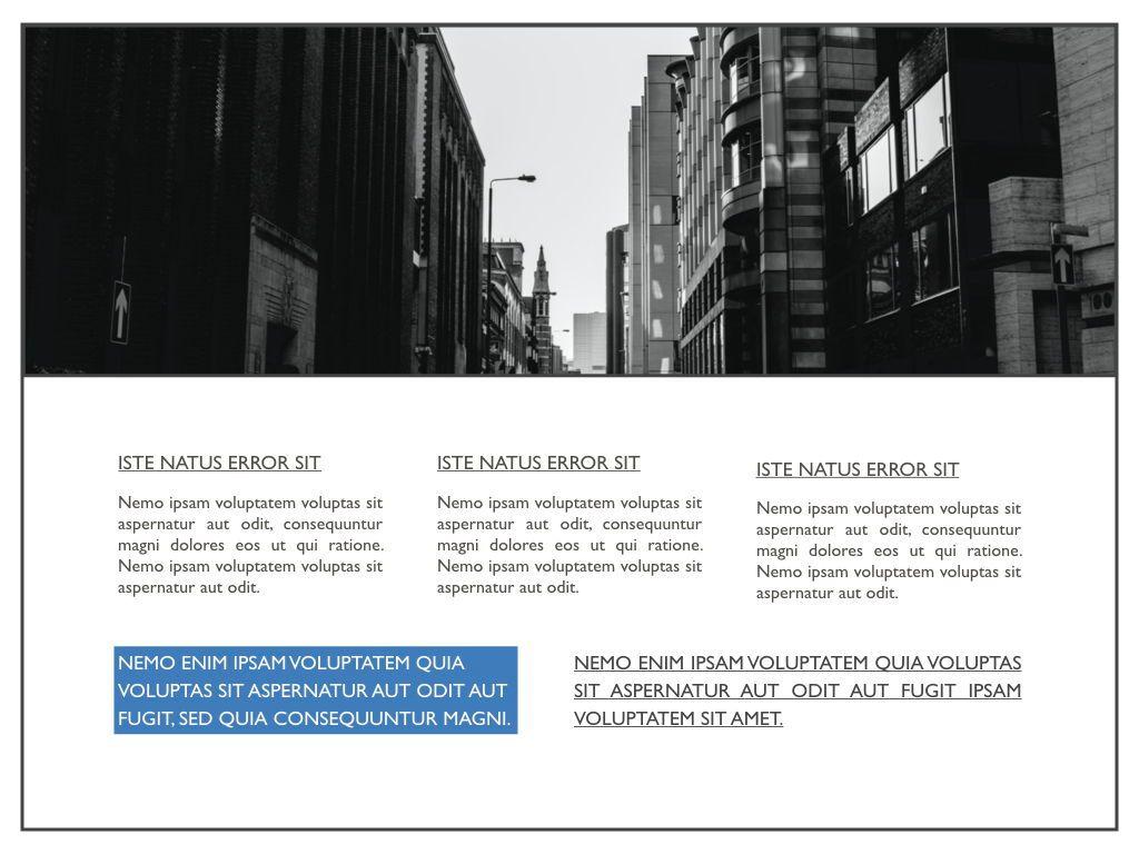 Road Keynote Presentation Template, Slide 17, 04890, Business Models — PoweredTemplate.com