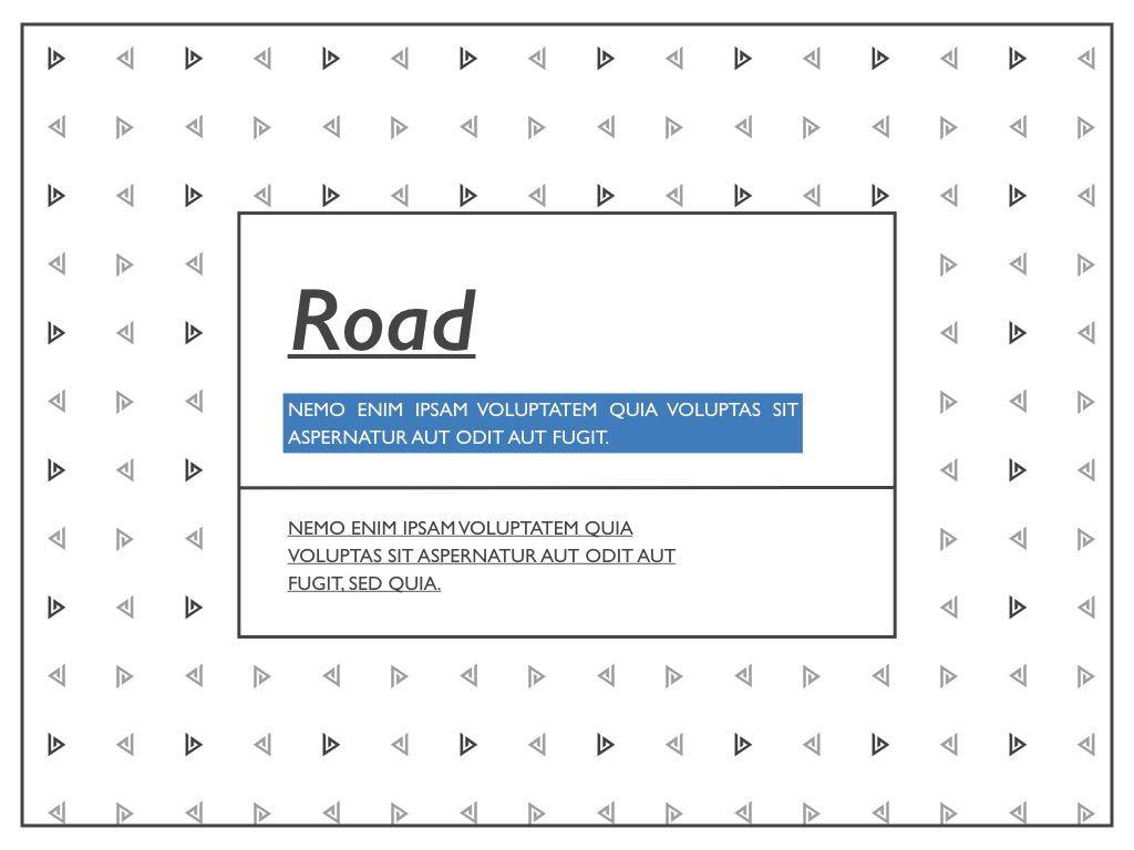 Road Keynote Presentation Template, Slide 20, 04890, Business Models — PoweredTemplate.com