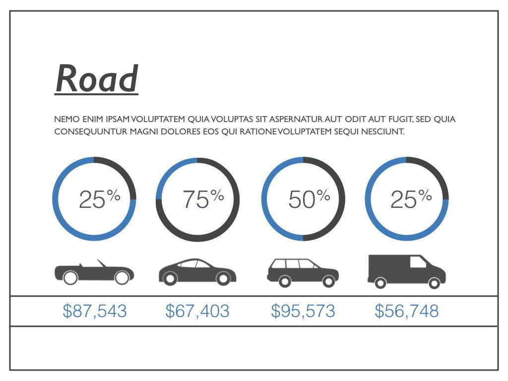 Road Keynote Presentation Template, Slide 3, 04890, Business Models — PoweredTemplate.com