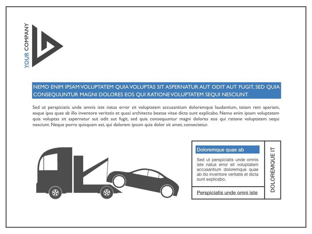Road Keynote Presentation Template, Slide 30, 04890, Business Models — PoweredTemplate.com