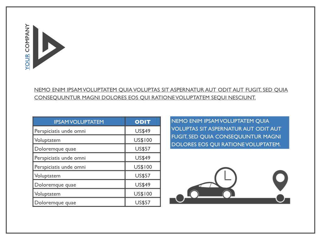 Road Keynote Presentation Template, Slide 32, 04890, Business Models — PoweredTemplate.com
