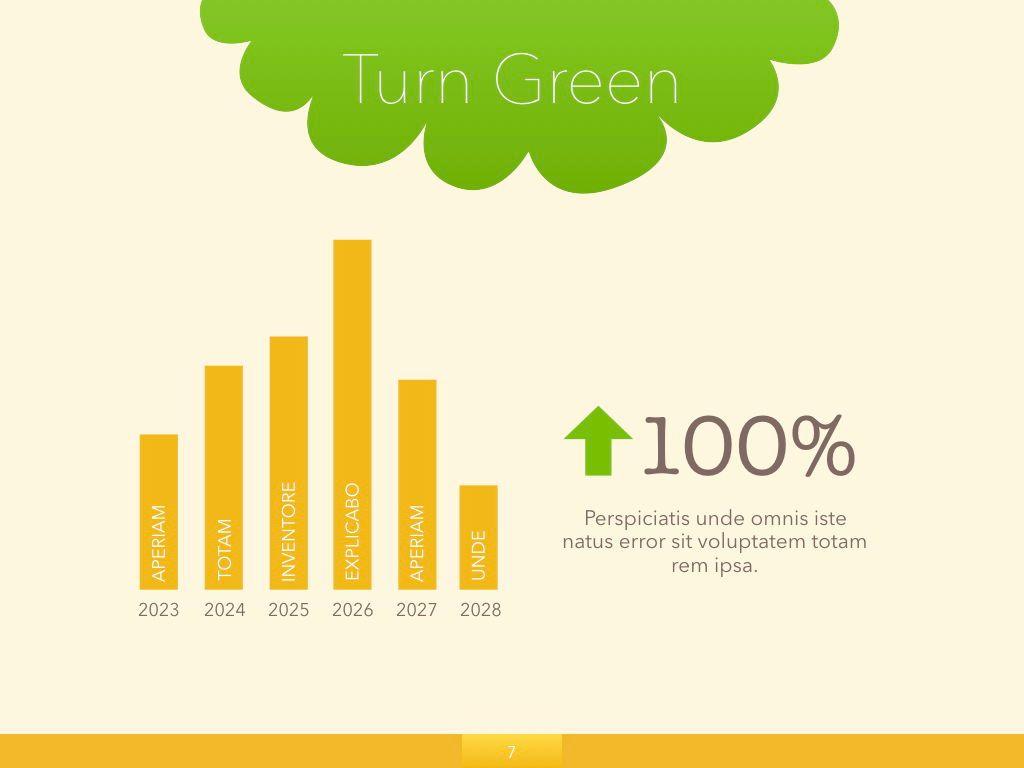 Turn Green Keynote Presentation Template, Slide 23, 04892, Business Models — PoweredTemplate.com