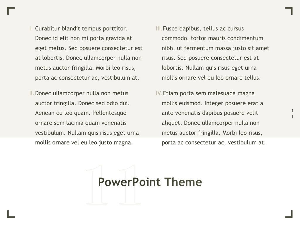 Exhibit PowerPoint Template, Slide 12, 04898, Presentation Templates — PoweredTemplate.com