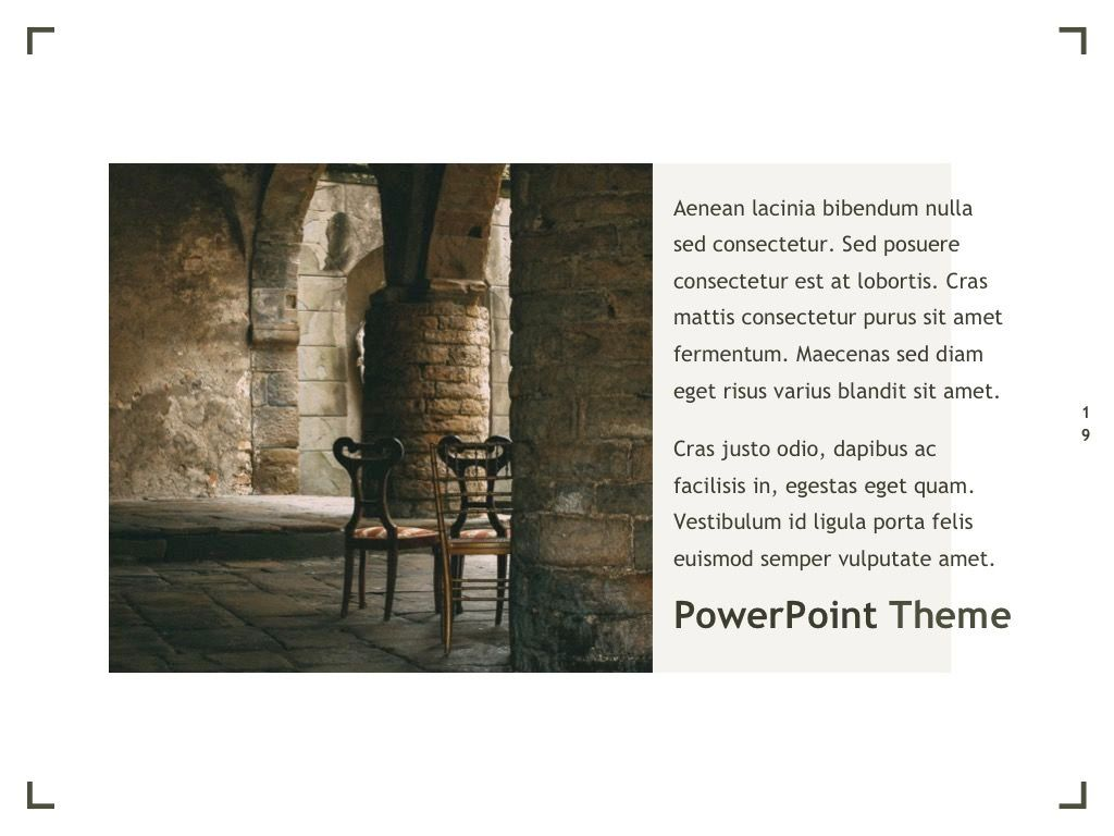 Exhibit PowerPoint Template, Slide 20, 04898, Presentation Templates — PoweredTemplate.com