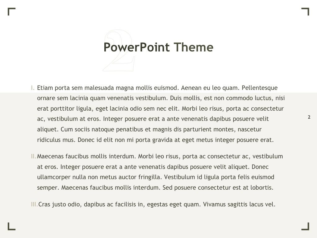 Exhibit PowerPoint Template, Slide 3, 04898, Presentation Templates — PoweredTemplate.com