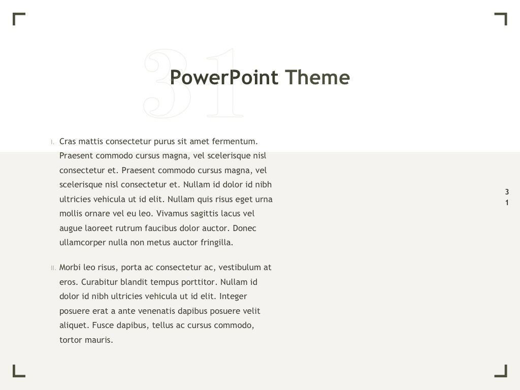 Exhibit PowerPoint Template, Slide 32, 04898, Presentation Templates — PoweredTemplate.com