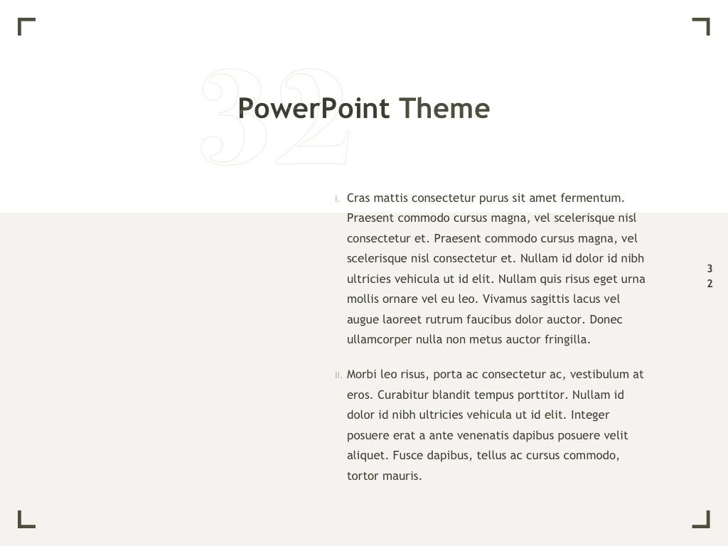Exhibit PowerPoint Template, Slide 33, 04898, Presentation Templates — PoweredTemplate.com