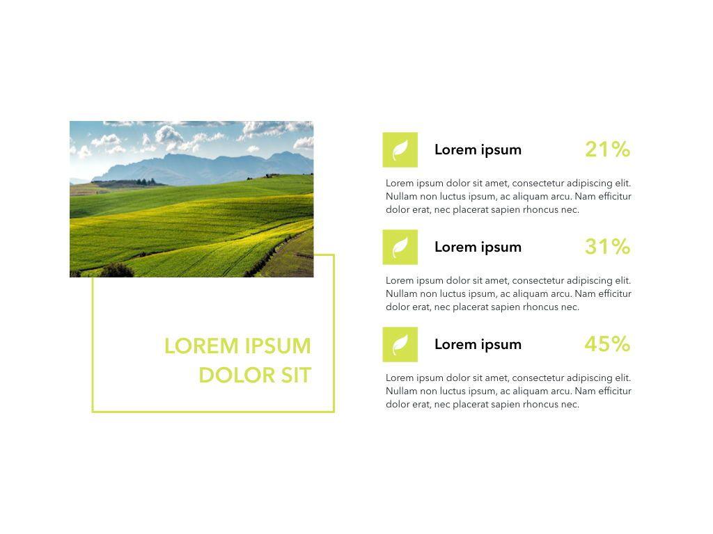 Natural 02 Powerpoint Presentation Template, Slide 8, 04903, Business Models — PoweredTemplate.com