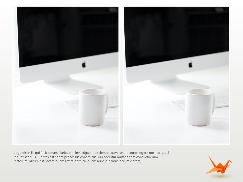 Origami Powerpoint Presentation Template, Slide 3, 04904, Business Models — PoweredTemplate.com