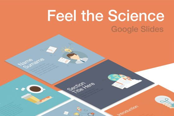 Presentation Templates: Feel the Science Google Slides Template #04909