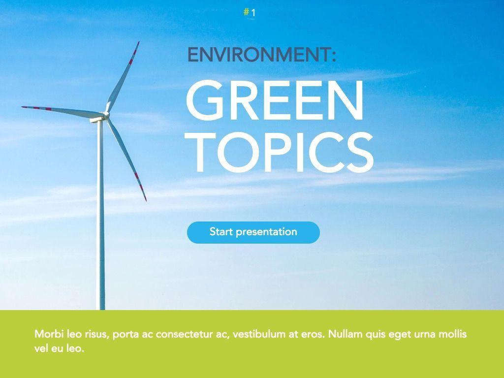 Environment Friendly Google Slides Theme, Slide 2, 04914, Presentation Templates — PoweredTemplate.com