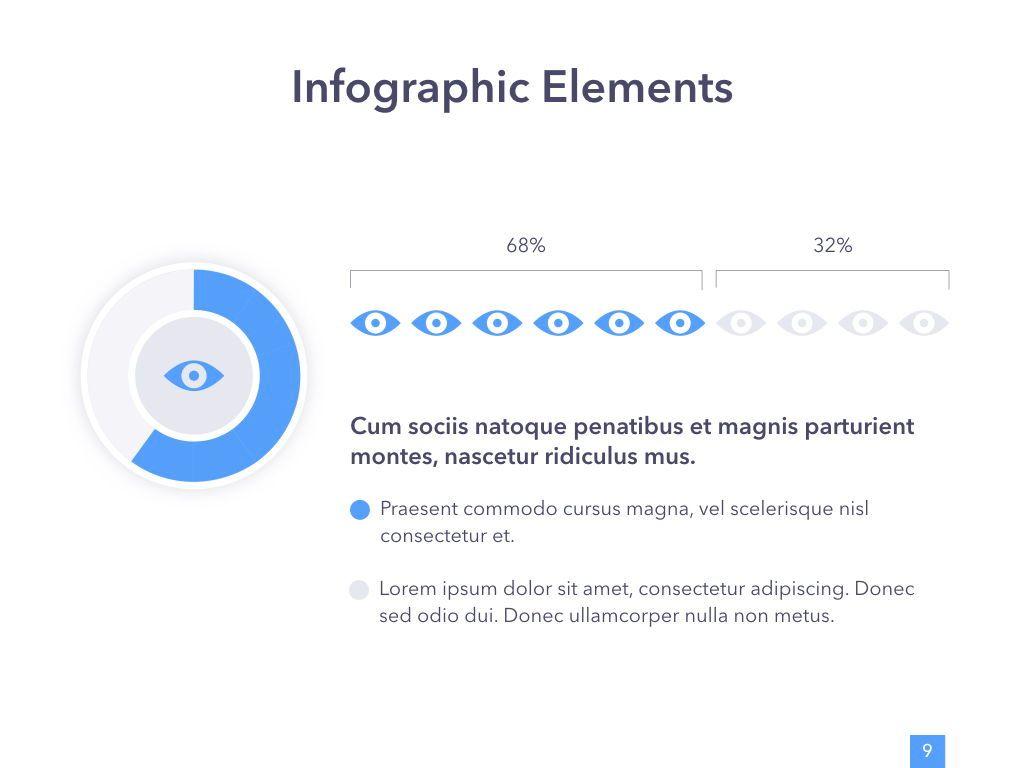 Eye Health Keynote Template, Slide 10, 04917, Medical Diagrams and Charts — PoweredTemplate.com