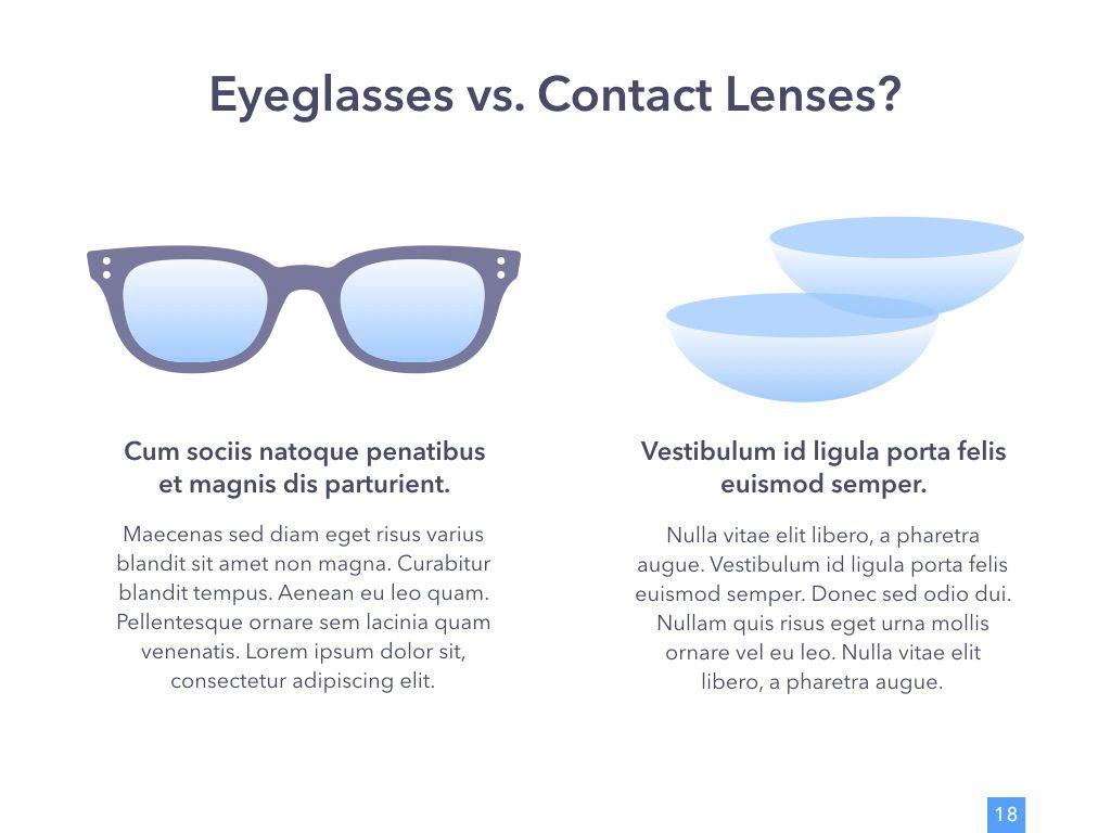 Eye Health Keynote Template, Slide 19, 04917, Medical Diagrams and Charts — PoweredTemplate.com