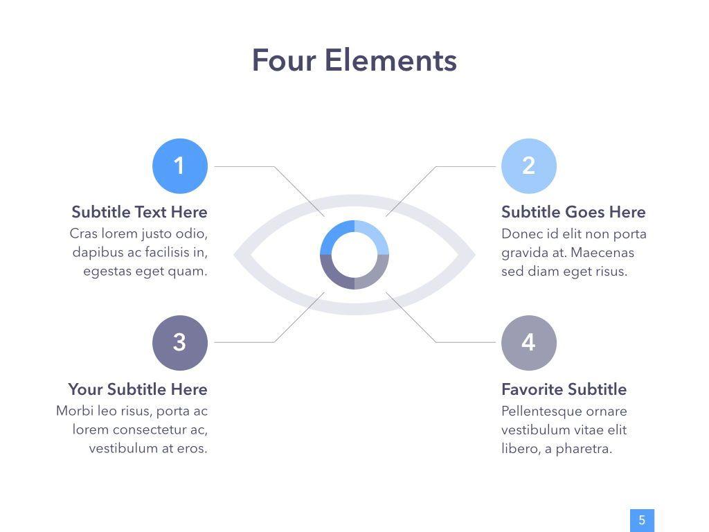 Eye Health Keynote Template, Slide 6, 04917, Medical Diagrams and Charts — PoweredTemplate.com